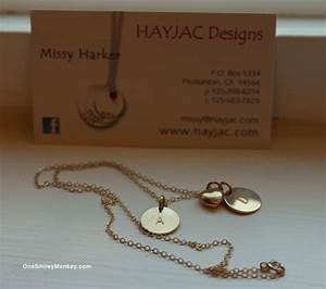 HAYJAC Designs: Initial Necklace – Gold Collection ...
