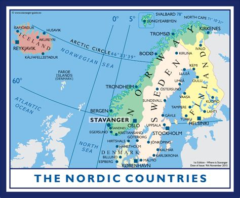 Which For The Nordic Countries Stavanger Guide Maps Stavanger City Map