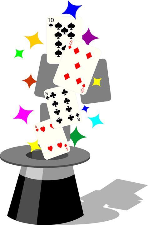magic  stock photo illustration  playing cards