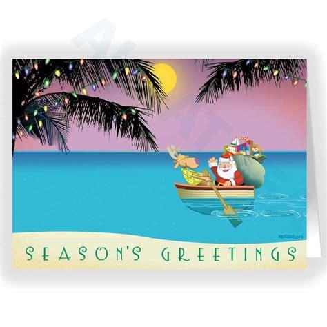 Christmas  Caribbean Christmas Cards Stunning S L1600