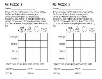 logic puzzles for grades 2 3 by meredith momgineer tpt