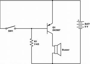 Switches - Pnp Transistor Switch Circuit