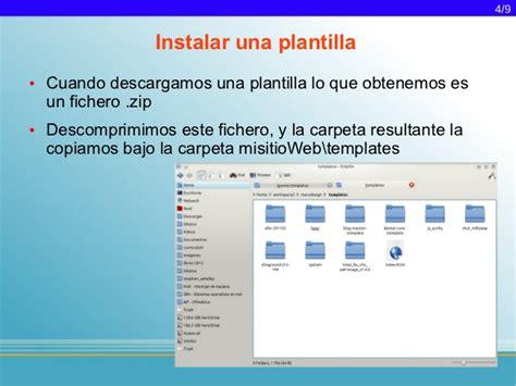 como instalar template de joomla joomla 1 5 instalaci 243 n y modificaci 243 n de templates