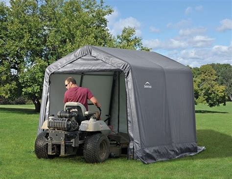 portable shade sheds shelterlogic 8x8x8 peak economy storage shed portable