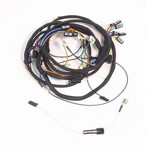 John Deere 4020 Diesel Main Wire Harness  Up To Serial  90 999  U0026 Modified For Use With A 12 Volt