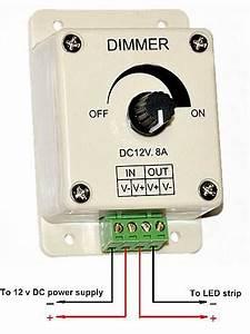 2020 Retail Low Voltage Manual Dimmer For Led 12v  24v Ac