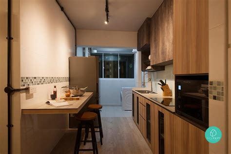 hdb 4 room kitchen design 10 beautiful homes 35 000 qanvast 7015