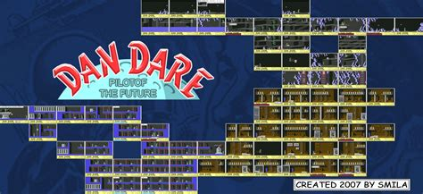 Dan Dare On The Commodore 64 Pixel Map My Style