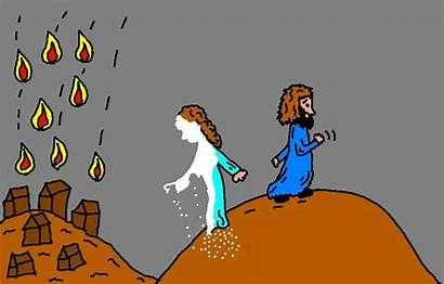 Salt Wife Lot Sunday Pillar Bible Clipart