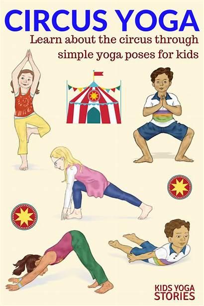 Circus Yoga Theme Activities Poses Preschool Crafts