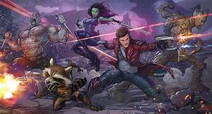 GUARDIANS OF THE GALAXY Awesome Fan-Art Mix Vol. 1