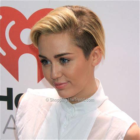 Miley Cyrus short hair at Z100's Jingle Ball 2013