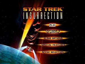 Star Trek: Insurrection (DVD) | Memory Alpha | Fandom ...