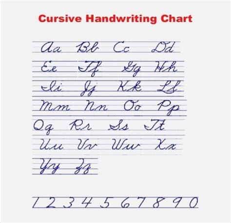 Cursive Writing Guide Dailypollco