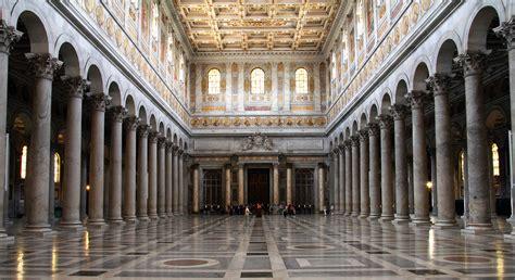 interno roma la basilica di san paolo fuori le mura mobility
