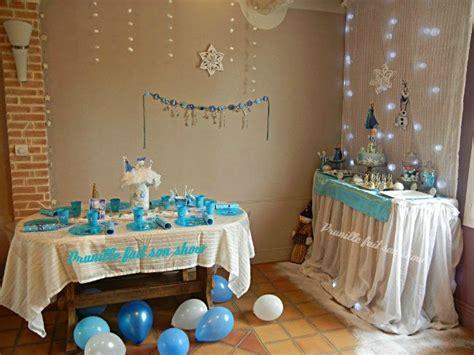 decorations anniversaire la reine des neiges chateau