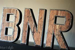 diy with style restoration hardware inspired vintage With industrial letters