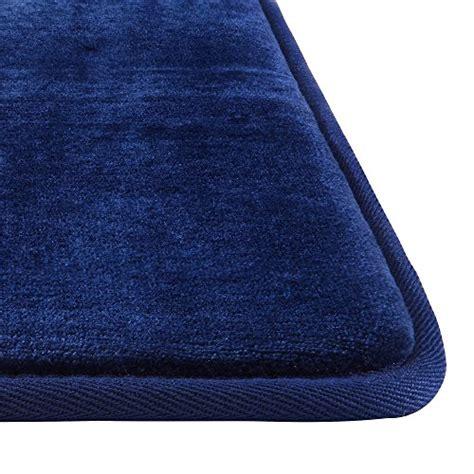 genteele memory foam bath mat  slip absorbent