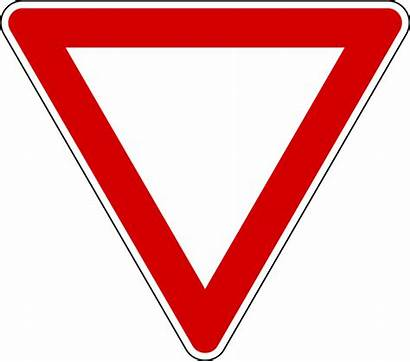 Sign Clipart Yield Yellow Clipartpanda Solvency Road