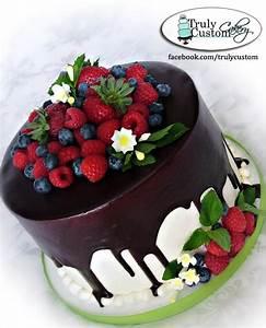 Gnache And Fresh Fruit - CakeCentral.com