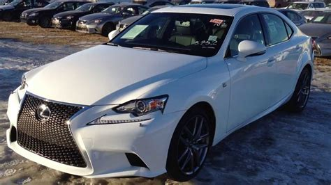 white lexus is 250 2014 lexus is 250 awd premium f sport package in ultra