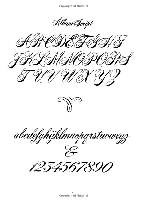 Script and Cursive Alphabets: 100 Complete Fonts (Lettering, Calligraphy, Typography): Dan X