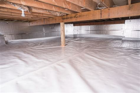 Crawl Space Vapor Barrier In Fayetteville, Greenville