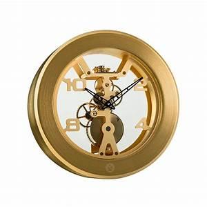 Wind 8 Day Manual Wind Clock      Gold