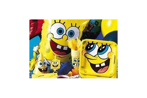 349124606ba26 SpongeBob Birthday Theme. Fun Spongebob Party Supplies. The kids will have  a blast when you throw a SpongeBob birthday party for your child. The