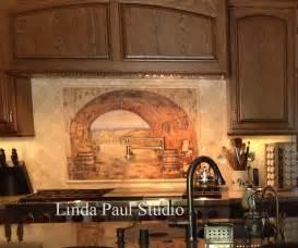 Kitchen Backsplash Murals Tuscan Backsplash Tile Wall Murals Tiles Backsplashes
