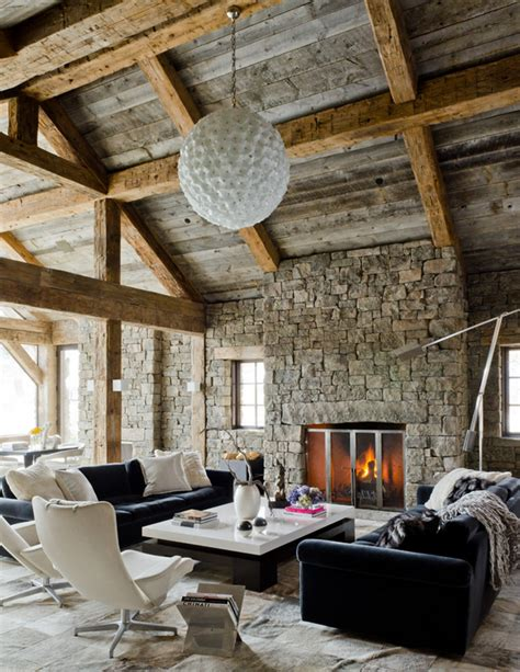 modern rustic living room defining elements of the modern rustic home