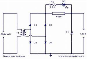 Blown Fuse Indicator Circuit