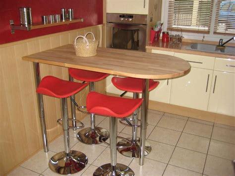 table de cuisine a fixer au mur 1 table de bar fixe au
