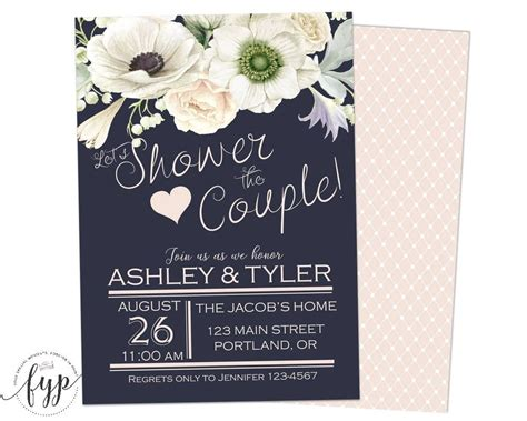 wedding shower invitations for couples 2019 Cards 2000