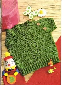 Camisa Verde Ganchillo Patron  U22c6 Crochet Kingdom