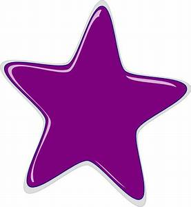 Purple star   Purple Star clip art - vector clip art ...