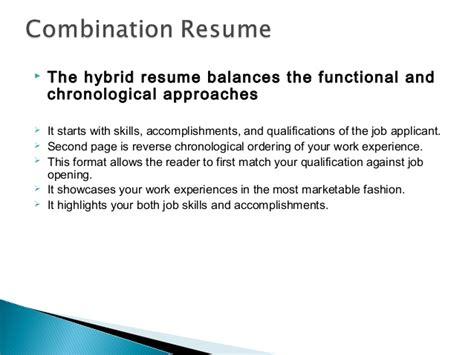 resume writing ppt