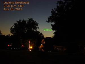 The Planets Tonight, July 28, 2013 | When the Curves Line Up