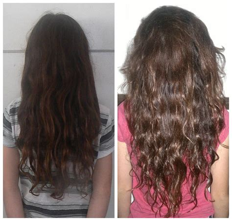 Long Hair Growth Before and After