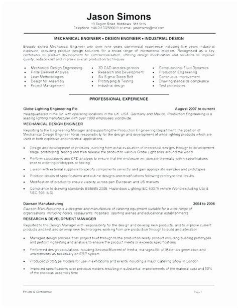 Just fill in your details, download your new resume. 25 Mechanical Engineering Resume Template in 2020 ...