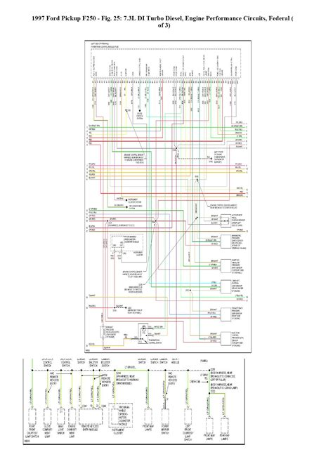 where can i find a complete wiring schematic for a 1997 ford f350 with a 7 3l powerstroke