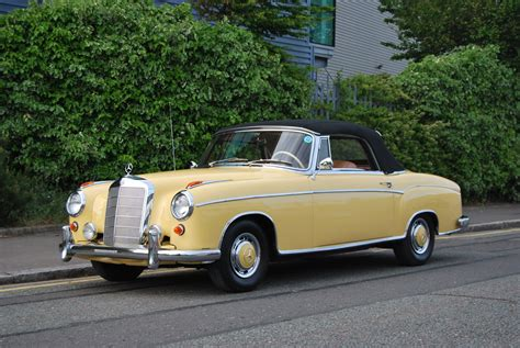 Classic Mercedes-benz Is Victorious Under The Hammer At