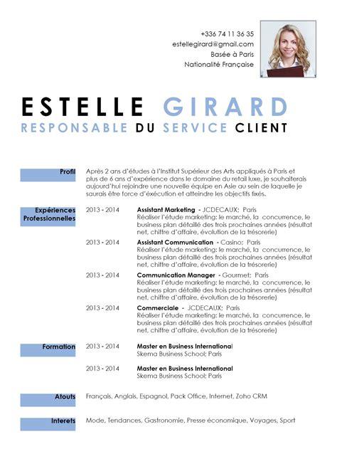 Presentation Du Cv En Francais presentation du cv en francais cv mod 232 le t 233 l 233 charger