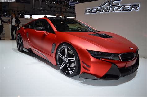 More Photos Of The Hot Inferno Red Bmw I8 By Ac Schnitzer