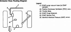 Vacuum Line Diagram For 1996 Chevy Cavalier  2 2 Liter