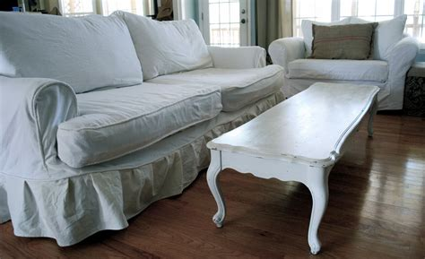 Slipcovered Sofa by The Lazy S Guide To Custom Slipcovers The Ebook