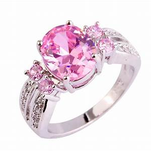 aliexpresscom buy lingmei nice fashion jewelry pink With pink and silver wedding rings