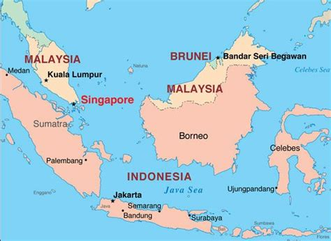 singapore located world map asia countries