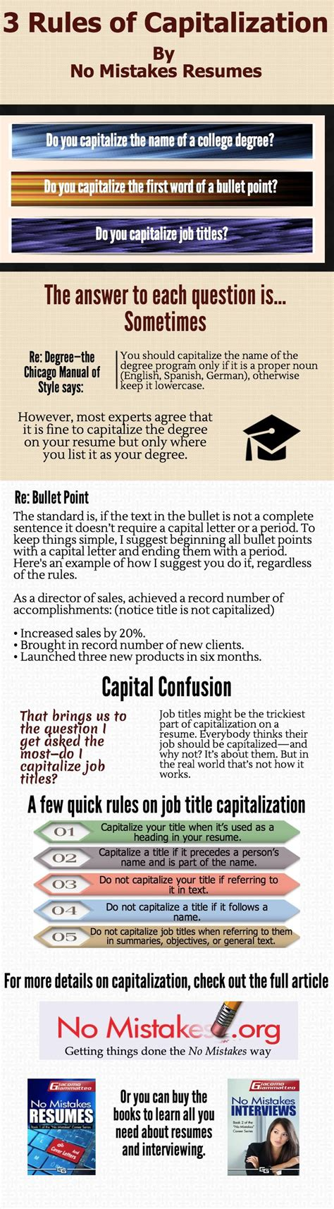 capitalization in resumes new resume 2014 bongdaao