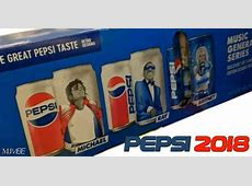 Michael Jackson on Pepsi cans once again!